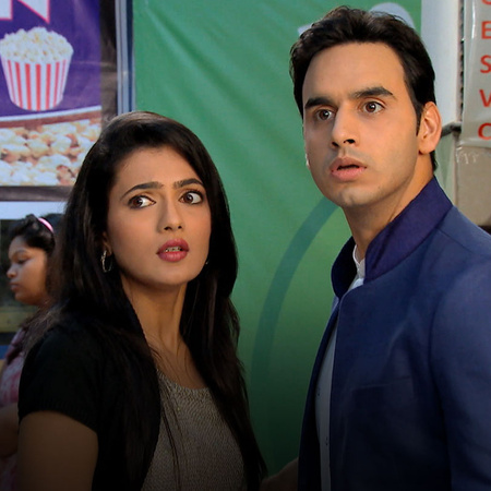 Raj puts his life at risk to save Avni and Savri spots Akshay and Arpi