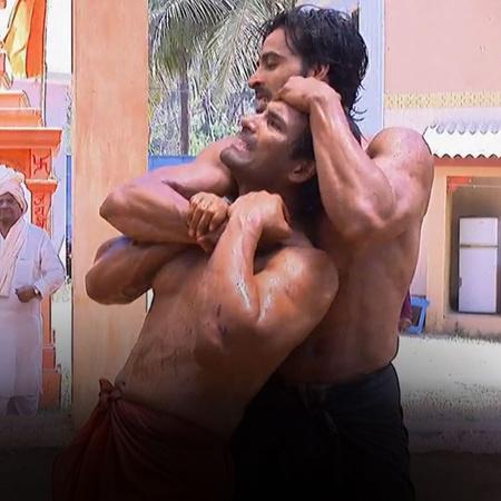 مواجهة عنيفة بين ظالم سينغ و رانا في الملاكمة. من الذي سيفوز؟