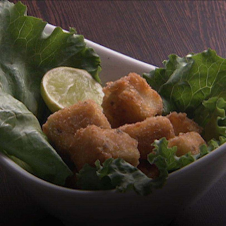 Learn how to make nuggets at home using Gurdip Punjj's special recipe