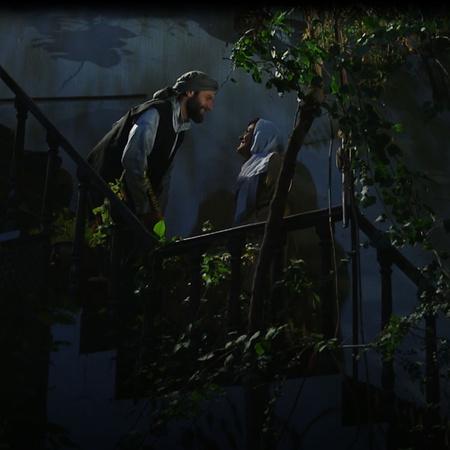 عزمية خانوم قلقة من عودة فاخر إلى الحارة وريحانة تطلب مساعدة حامد