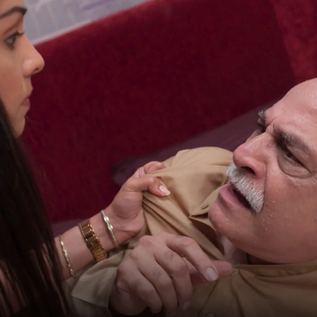 Nisha is exposed to the uncle and tries to kill him to take all his be