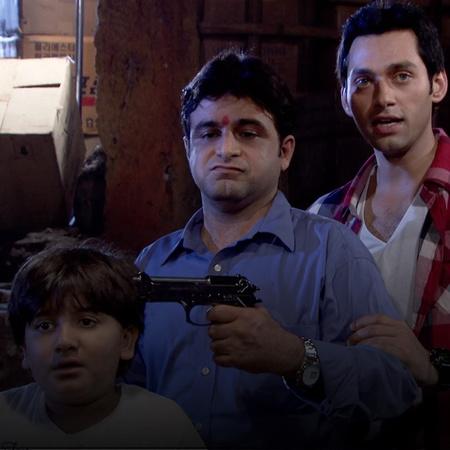 The drug filled suitcase gets to Indira's hands. And the drug dealer a