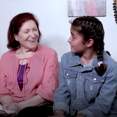 Jana meets with two actors who had an impact on her love for televisio