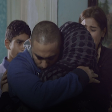 Adam calls his friend Kareem to help him to see his family, but Marzoo