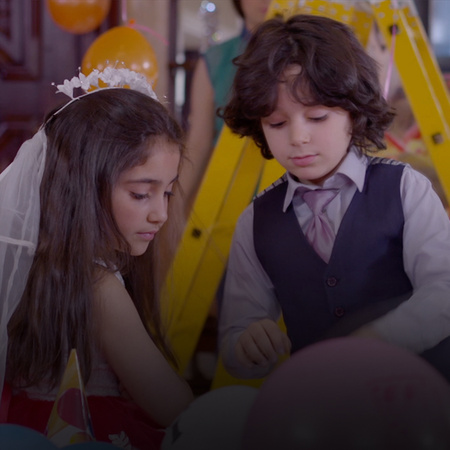 Nour does not want to make her birthday party without her mother, but