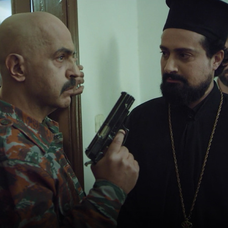 Fadi and his people attack Hilal's house and threaten him to kidnap hi