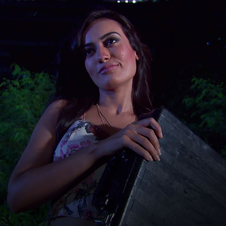 Sanams' twin sister returns to seek revenge from Tanveer.