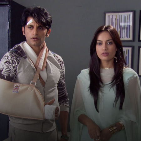 How will Reehan react when he finds Sanams' twin?