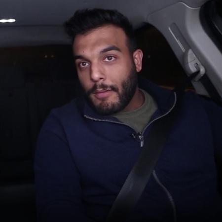 Activist Dia Alyan drives a taxi, loads passengers and pranks them, he