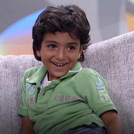 يستضيف الفنان أحمد حلمي الطفل أحمد في برنامجه شوية عيال