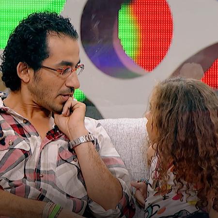 يستضيف الفنان أحمد حلمي الطفلة زينة في برنامجه شوية عيال