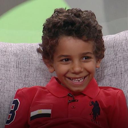 يستضيف الفنان أحمد حلمي الطفل ياسين في برنامجه شوية عيال
