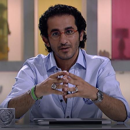 يستضيف الفنان أحمد حلمي الطفلة هناء في برنامجه شوية عيال