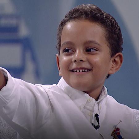 يستضيف الفنان أحمد حلمي الطفل محمد في برنامجه شوية عيال