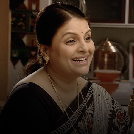 Kala tells Shree that the house is going to be demolished.