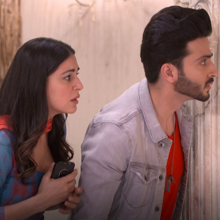 Rishab goes to apologize to Sarla and her family after what Karina did