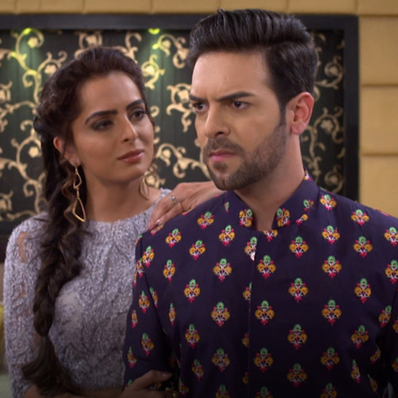 Rishab tries to admit to Brita about his love to her after he knew abo