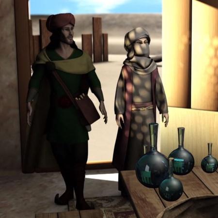 يبحث حسن عن أبو يعقوب من أجل تحضير اكسير الحياة ضد الطاعون