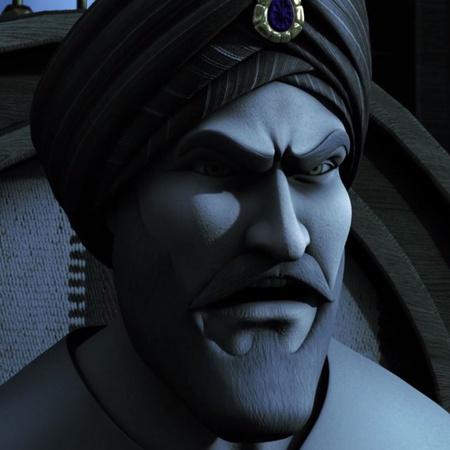 يروي الحارس للتاجر قصته مع السلطان
