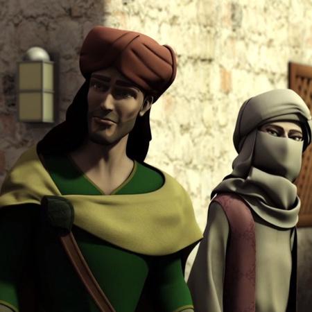 يكتشف ابن بطوطة سر حسن و يقرر مساعدته