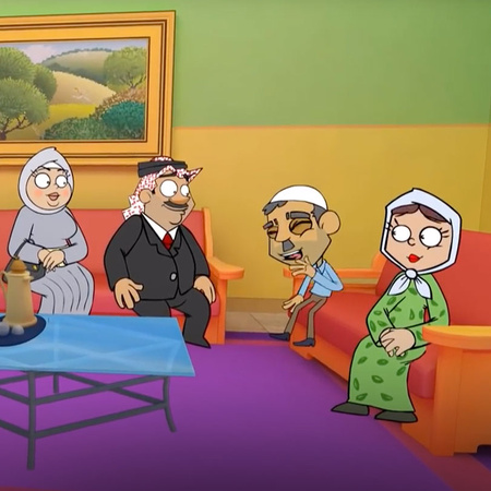 "The third season of the Jordanian animation program, ""Nahfat Elila"", t"
