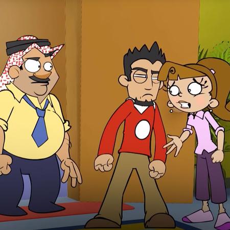 "The third season of the Jordanian animation program, ""Nahfat Elila"", t"