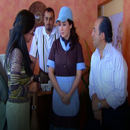 Marwa gets a new job and starts learning how to do it. Bassam insists