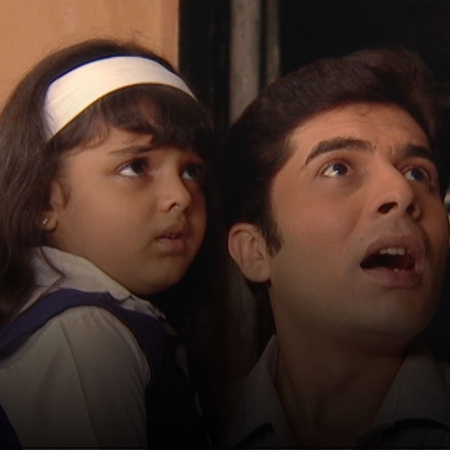 At the time that Yehya is unable to make Fadia comes home, the kids ha