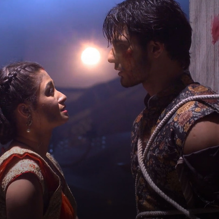 Desha is saving Abhi's life beacuse she is story woman