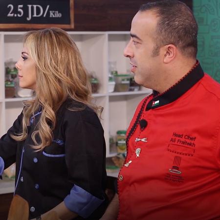 يتم اختيار 28 مشاركة من السيدات الأردنيات يتسابقن بمسابقة الطبخ وفي نه