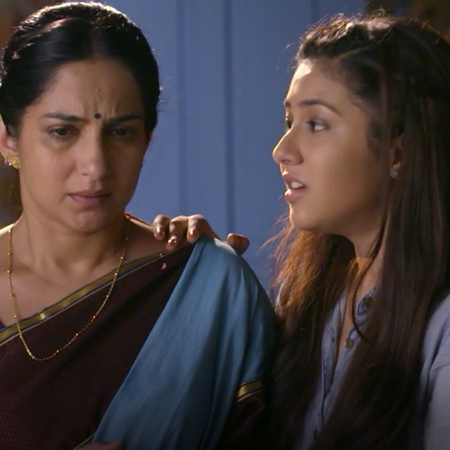 With her intelligence, Kalyani can escape she and the girls and save e