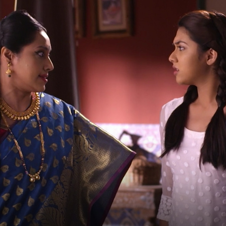 Anubria is kicked out of the house after confessing that Kalyani is At