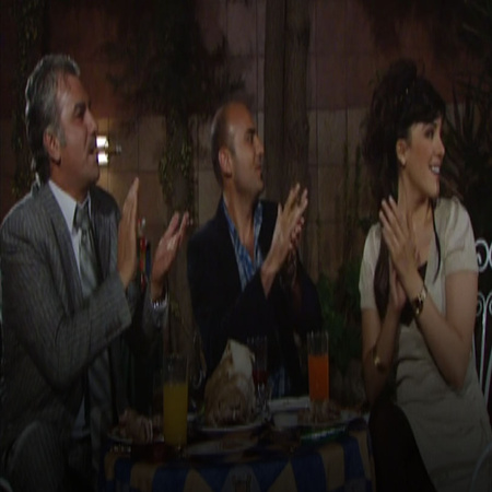 Nizar and Lucy arrange a business dinner and invite famous actors and