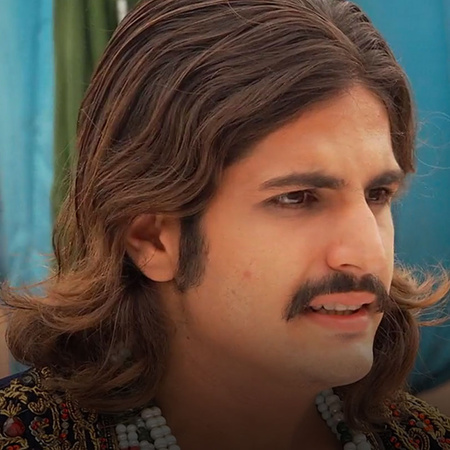 Looks like Jalal's new mistress has an effect on him that she even suc