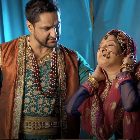Bakshi is living in fear with her husband.