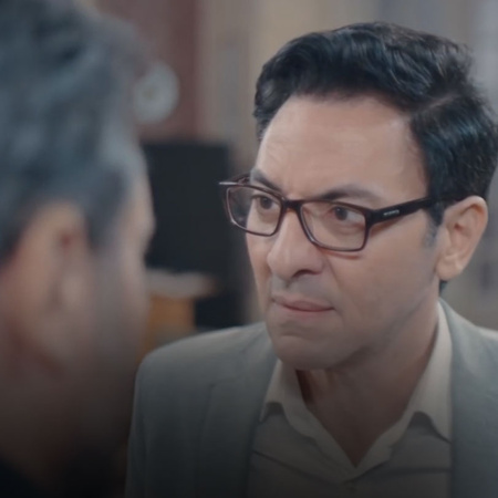 Why Ehab visited the lawyer and what is the surprise that is waiting K